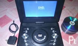 Selling my Dvd portable with free dvd movies. Naa line