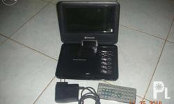 for sale portable dvd player with remote control naa