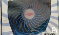 Portable Rechargeable Fan Best for outdoor travel,