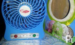 Portable mini FAN with Li-ion battery [removable]
