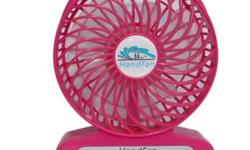 Portable Rechargeable Fan Very strong wind. Can be send