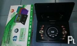 for sale portable tv dvd player complete package good