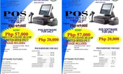 Pos system for grocery and drugstores complete package