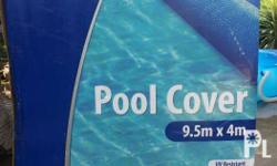 power force titanium pool cover 9.5m x 4m * Made from