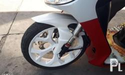 Power mags y millenium color white For mio.sporty and