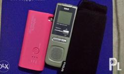 Powerbank from Japan given by my ate. Recorder bought