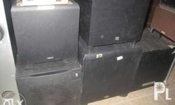 selling assorted subwoofers powered and we have passive