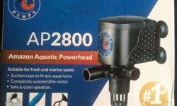 Heavyduty powerhead aquarium pump Model: AP2800 Amazon