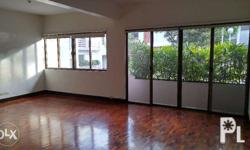 It is unfurnished and on one floor. It is bright and