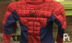 Spider Man Costume, 1800's Costume. Ages 2-7 years old