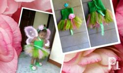 tutu dress w/shoes for 1t (P350) gown for 3-4t