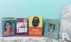8 Great Novels for Only 700 Pesos! It includes: -The