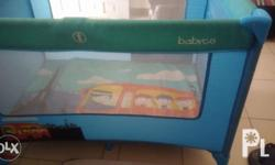 Pre loved baby crib, no issues, very seldom used. Pls