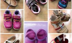 Selling Preloved Shoes: EUC , outgrown a. Dora Shoes -