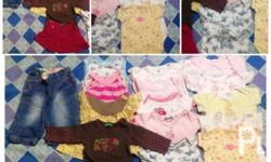 6-9 months sizes 16 pcs slightly used by my daughter