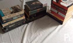 Books for sale! Brand new and preloved Can be sold