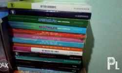 FOR SALE!! LIST OF BOOKS. PILOSOPOTASYA'S - After