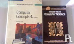 Preloved Computer Science books Still in good