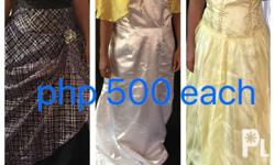 Urgent selling My Preloved Gowns, Ones used for an