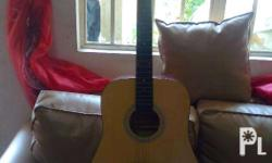 Selling my acoustic guitar for only P3,300. (Price is
