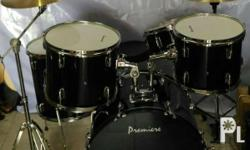 Premiere Drumset Brandnew with Heavt Duty Cymbals Stand