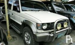 Vehicle Options 2002 Mitsubishi Pajero Year: 2002