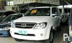 Vehicle Options 2007 Toyota Fortuner G Year: 2007