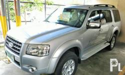 Vehicle Options 2008 Ford Everest Year: 2008 Mileage: 1