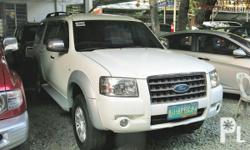 Vehicle Options 2009 Ford Everest Year: 2009 Mileage: