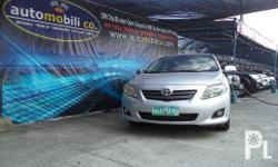 Vehicle Options 2010 Toyota Altis G Year: 2010 Mileage: