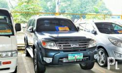 Vehicle Options 2012 Ford Everest Year: 2012 Mileage: