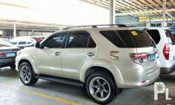 Vehicle Options 2013 Toyota Fortuner G VVTi Year: 2013