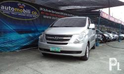 Vehicle Options 2008 Hyundai Starex GL Year: 2008
