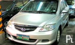 Vehicle Options 2008 Honda City Year: 2008 Mileage: 1