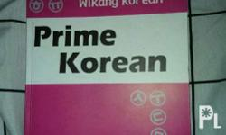 Unused Korean Prime Book Contains lessons on Reading