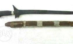 Antique Moro Kalis sword Authentic Not the ordinary