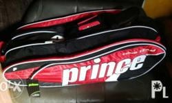 Prince Tour Team Red 12-Pack Tennis Bag Brand New