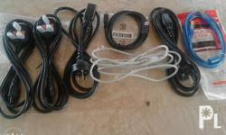 Printer cable and usb. Assorted for canon,hp and