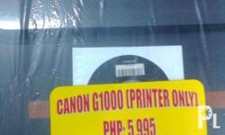 Canon printer with ciss ready g1000 is a printer