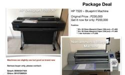 "HP Designjet T520 36"" + Non-ammonia high speed"