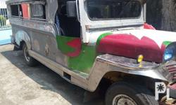 private jeepney engine:4ba1 9 seater semi stainless