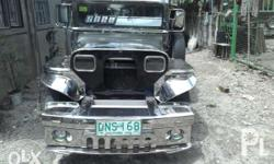 For sale private jeepney 4bc1 Isuzu Power steering D5