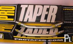 "BRAND NEW TAPERWALL ALUMINIUM HANDLEBARS ""THE ORIGINAL"