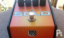 For sale Proco Solo Guitar effects Distortion pedal