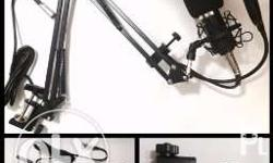 The Set Includes: (1) Condenser Microphone +