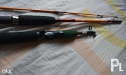 Fishing rods for sale originally bought from Japan.