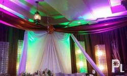 Projectors Lights and sound Full band setup Acoustic
