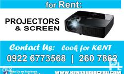 We have available Projectors for Rent Liloan -