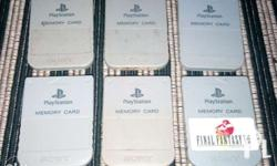 For sale PS1 Memory card Original 2nd hand Tested