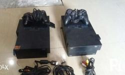 Second hand PS2 , 110 volts, complete accessories 160